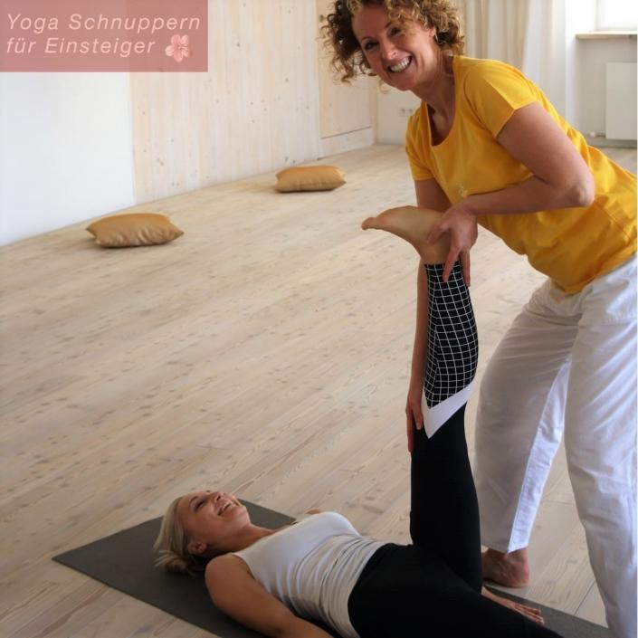 Yoga ausprobieren, lernen, üben